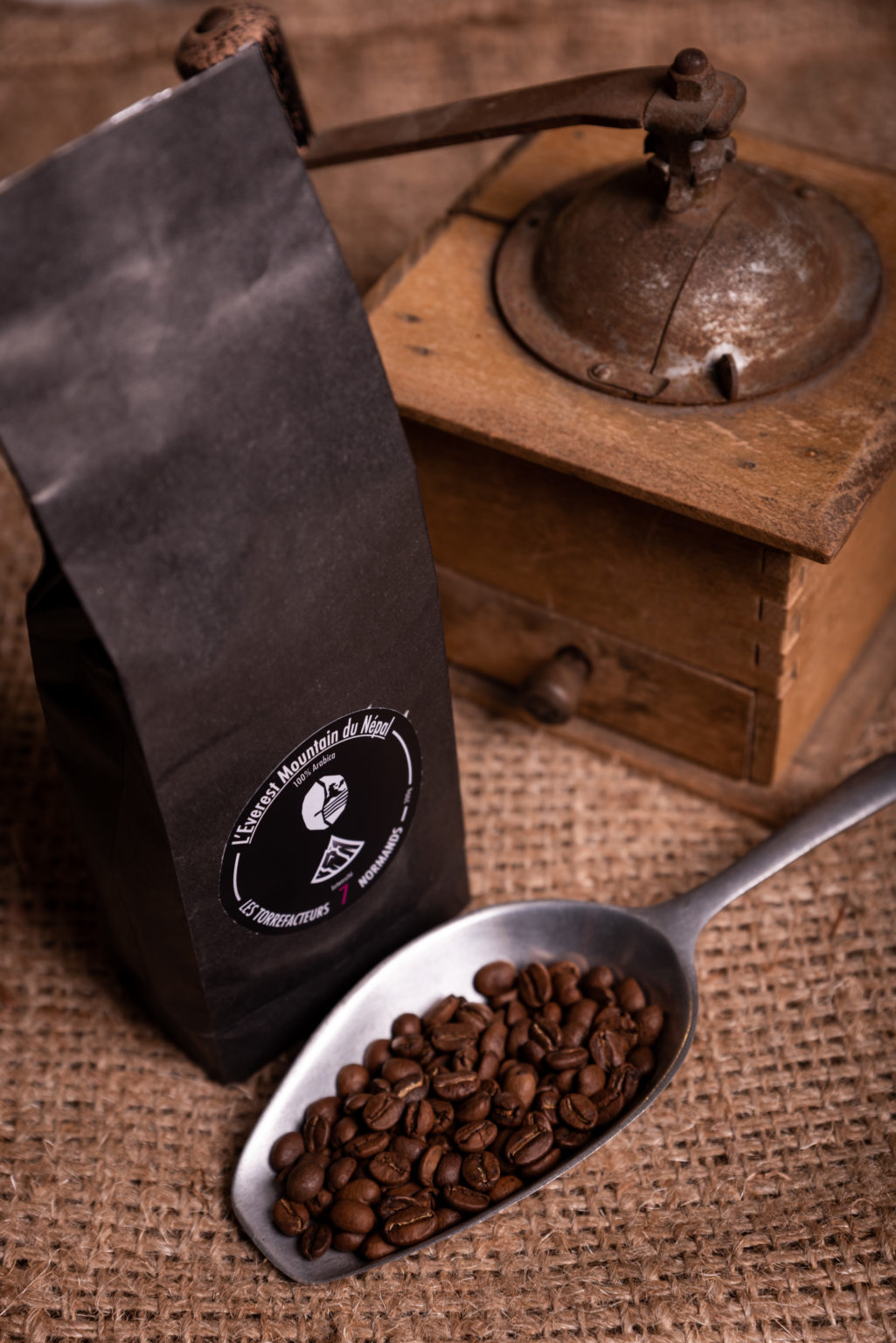 Le café Everest Mountain du Népal des Torréfacteurs Français