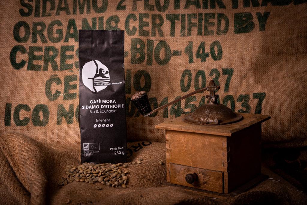 Café Moka Sidamo d'Éthiopie bio & équitable - Les Torréfacteurs Français
