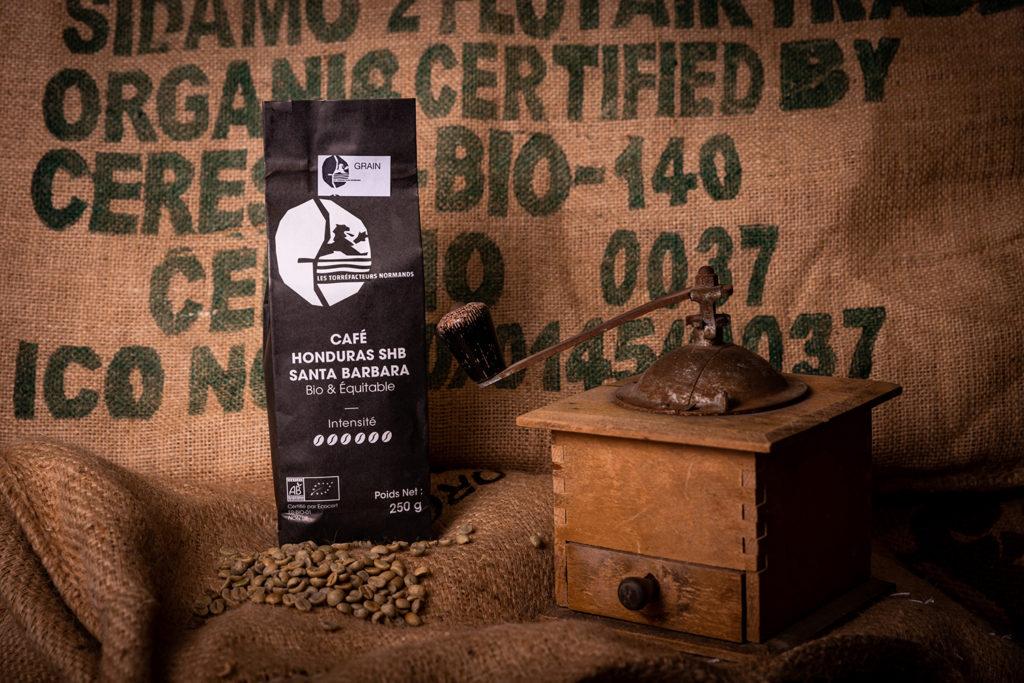 Café Honduras SHB Santa Barbara bio & équitable - Les Torréfacteurs Français