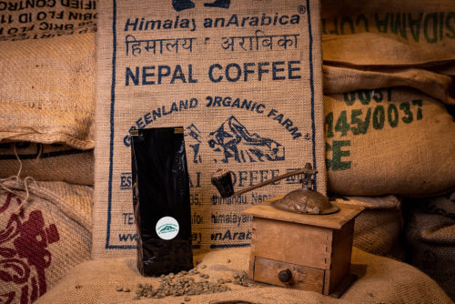 Café Everest Mountain du Nepal