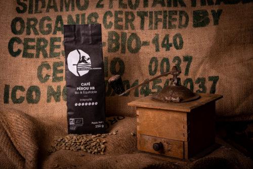 le café du Pérou des Torréfacteurs Français