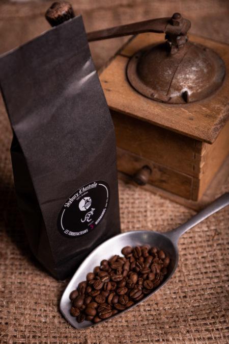 Le café Skybury d'Australie des torréfacteurs Français