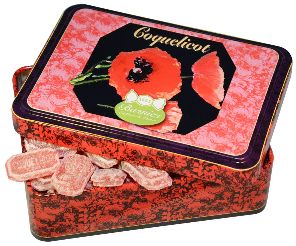 Bonbons Coquelicot de la Maison Barnier