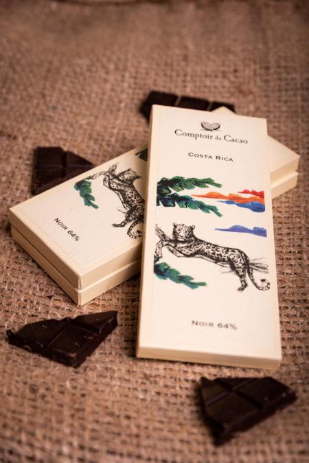 Tablette de chocolat Costa Rica comptoir du cacao