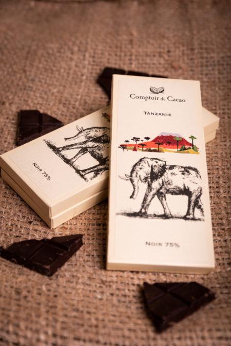 Tablette de chocolat Tanzanie Comptoir du cacao