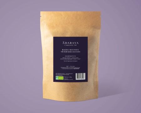 Le thé noir Baies Divines bio Adaraya