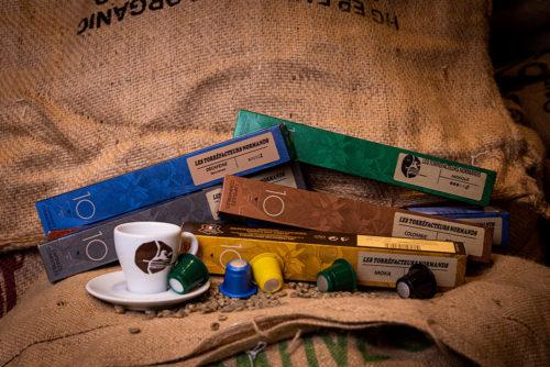 Offre découverte sur nos cafés en capsules