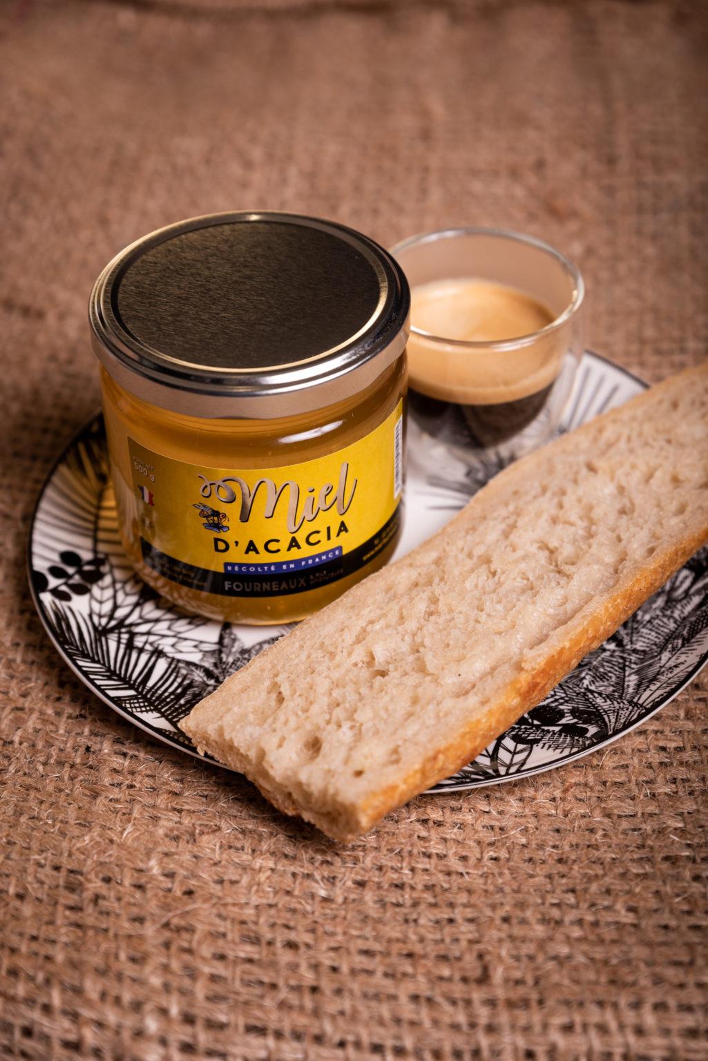 Miel d'acacia de la maison Fourneaux
