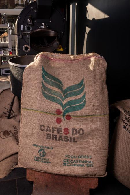 Sac à café Brazil en toile de jute